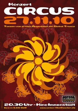 Flyer zum Konzert am 27.11.10 in Immenstadt