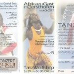 Afrikanischer Tanz und Konzert in Gersthofen