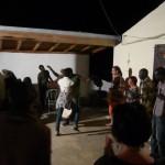 Trommelmusik, Gesang und Tanz. Jeden Samstag Abend im Balafon