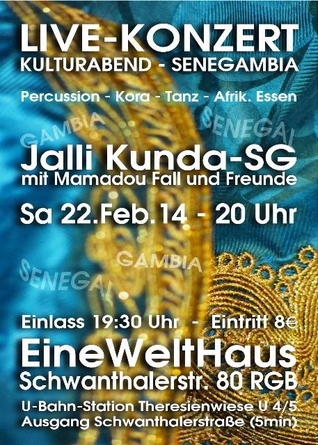 2014-02-22 - Jalli Kunda SG - München