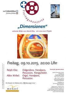 Plakat-Dimensionen